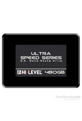 "Hi-Level Ultra 480GB 550MB-530MB/s 2,5"" Sata3 SSD HLV-SSD30ULT/480G + Aparat"