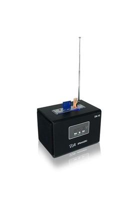 Rexpo DK-11 Fm Radyolu USB+SD Kart Girişli Taşınabilir Şarjlı Speaker