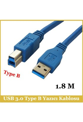 Ti-Mesh Usb 3.0 Type A-B M Printer Cable - 1,8M
