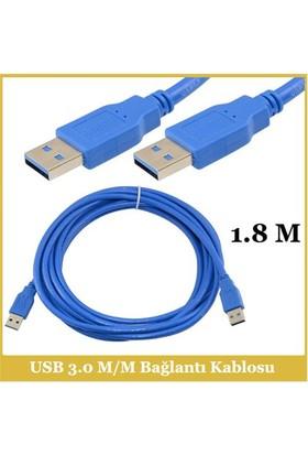 Ti-Mesh Usb 3.0 A M Plug / Usb 3.0 A M Bağlantı Kablosu - 1,8M