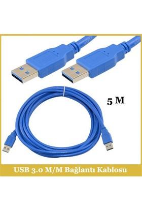 Ti-Mesh Usb 3.0 A M Plug / Usb 3.0 A M Bağlantı Kablosu - 5M