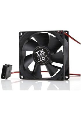 TX 8cm Siyah Kasa Fanı (TXCCF08BK)