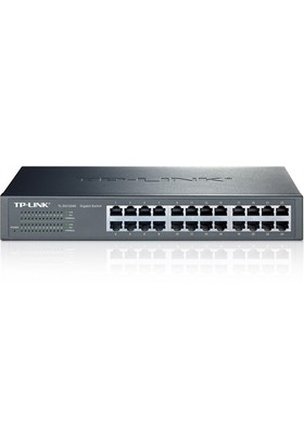 TP-LINK TL-SG1024D 24-Port 10/100/1000Mbps Tak ve Kullan % 40 Enerji Tasarruflu Gigabit Switch