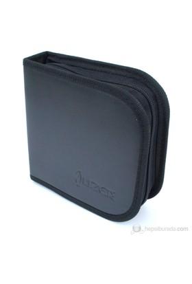 Lizer LC24 24'lü Siyah Deri CD Çantası