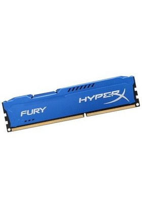 Kingston HyperX Fury Blue 8GB 1600MHz DDR3 Ram (HX316C10F/8)
