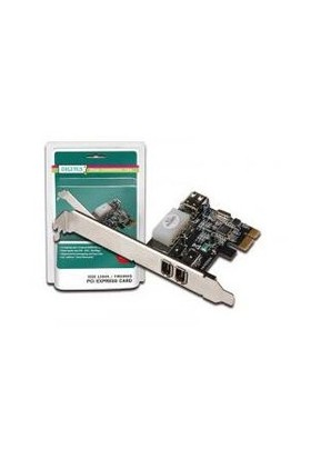 Digitus 3 Port'lu (2 Harici, 1 Dahili Port) PCI Express Firewire Kart DS-30201-2