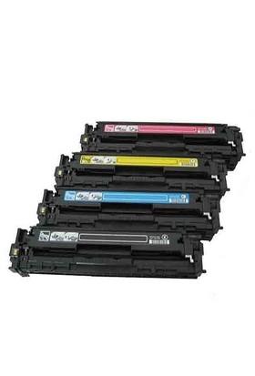 Neon Hp Color Laserjet Pro Cm1312nfi Siyah Renkli Toner Muadil Yazıcı Kartuş