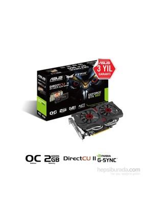 Asus Nvidia GeForce GTX 960 2GB 128Bit GDDR5 (DX12) PCI-E 3.0 Ekran Kartı (STRIX-GTX960-DC2OC-2GD5)
