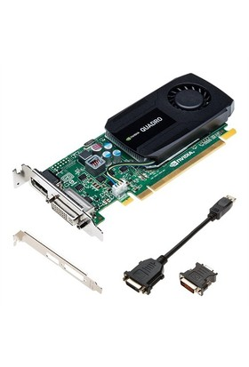 PNY Nvidia Quadro K420 2GB 128Bit GDDR3 (DX11) PCI-E 2.0 Ekran Kartı (VCQK420-2G-PB)