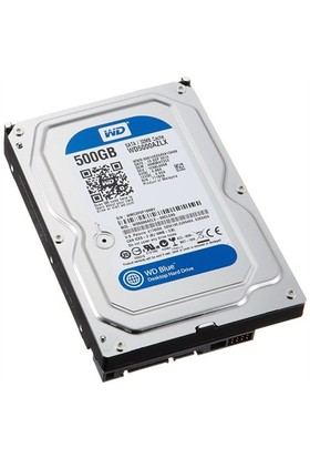 "WD Blue 500GB 7200RPM 32MB 3,5"" Sata 3.0 Sabit Disk (WD5000AZLX)"