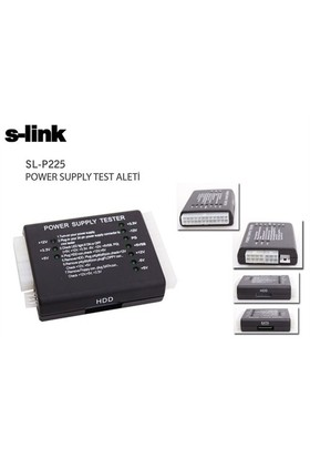 S-Link Sl-P225 Power Supply Test Aleti