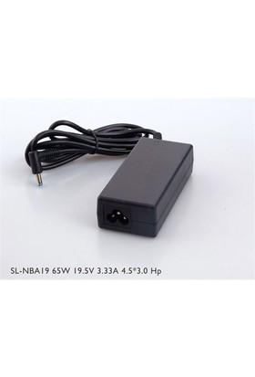 S-Link Sl-Nba19 65W 19.5V 3.33A 4.5*3.0 Hp Ultrabook Standart Adaptör