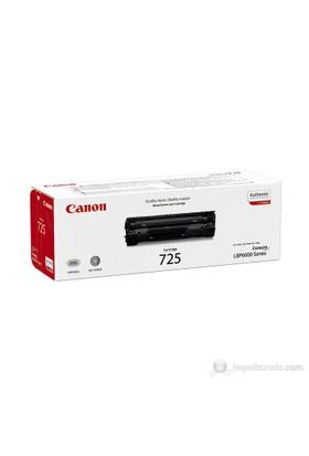 Canon CRG-725BK 1600 Sayfa Kapasiteli Siyah Toner