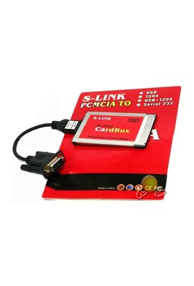 S-link PCMCIA To RS232 Kart