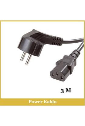 Bilgisayar Power Kablo - 3M