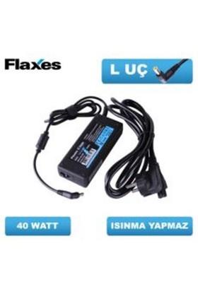 Flaxes Fna-Sa191 Flaxes Samsung 19V 2.1A 40W Uçlar:5.0*3.0 Muadil Notebook Adaptör
