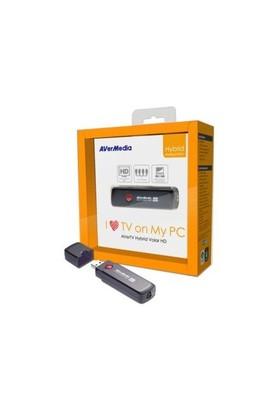 Aver Tv Volar Hybrid HD-Analog+DVBT Usb FM Tv Kartı