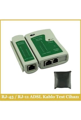 Rj-45 / Rj-11 Adsl Kablo Test Cihazı
