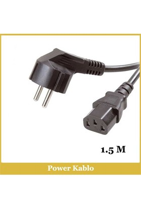 Bilgisayar Power Kablo - 1,5M