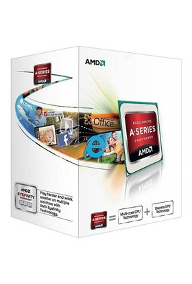 Amd A4 5300 3.4GHz Soket FM2 İşlemci