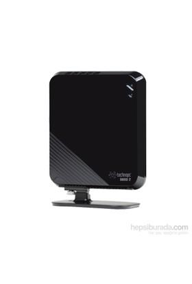 Technopc Nano2 Hd516-460Ssd Intel Dual Core Freedos 4Gb 60 Gb Ssd F.Dos Mini Pc