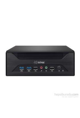 Technopc Usff Xv81-41450D Intel Core İ3 4Gb 500 Gb F.Dos Mini Pc