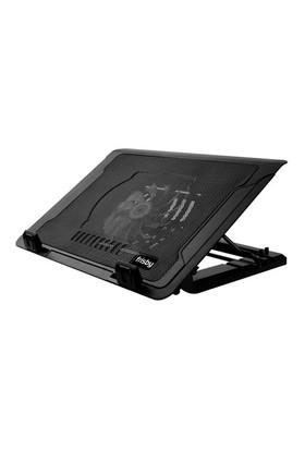 """Frisby FNC-35ST 14cm LED Fanlı Yükseklik Ayarlı, 2 Port USB HUB'lı 9-17"""" Notebook Stand ve Soğutucu"""