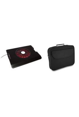 "Addison ANC-260 Siyah Netbook Soğutucu & Snopy DR-200 15.6"" Siyah Notebook Çantası (10810)"