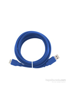 Flaxes FHK-302 1,8Metre USB 3.0 AM-Mbm USB HDD Şarj Data Kablosu