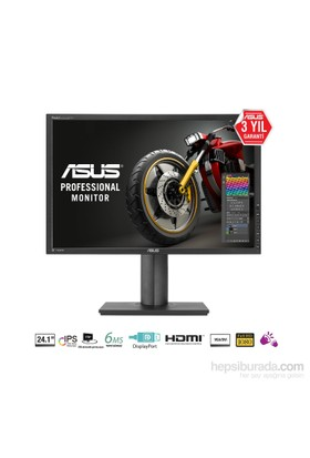 "Asus PA249Q 24.1"" 6ms (Analog+DVI+HDMI+Display) Full HD IPS Led Monitör"