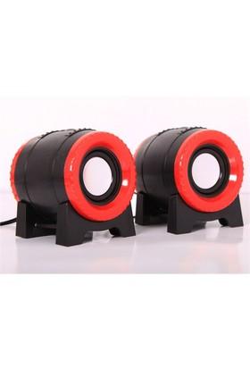Snopy SN-122 2.0 Siyah Usb Speaker (8965)
