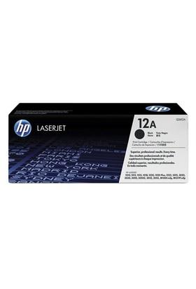 HP 12A 2000 Sayfa Kapasiteli Siyah Toner Q2612A