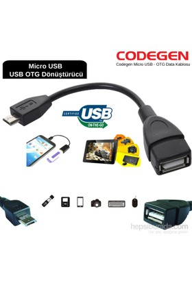 Codegen Micro USB - OTG Data Kablosu
