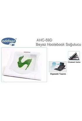 Addison Anc-59D Kademeli Beyaz Notebook Soğutucu Stand