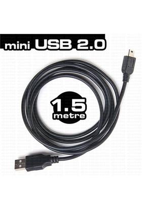 Dark Mini USB 2.0 1.5m Şarj ve Data Kablosu (PS3 kol şarj kablosu)(DK-CB-USB2MINIL150)