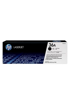HP 36A 2000 Sayfa Kapasiteli Siyah Toner CB436A