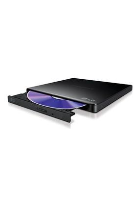 LG 24X USB2.0 Harici Slim Siyah DVD-RW (GP57EB40)