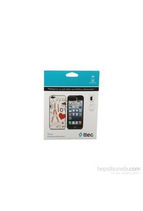Ttec Iphone 5 Desenli Desenli Arka Yüzey Ve Ekran