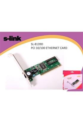 S-Link Sl-8139 Pcı 10/100 Ethernet Kart