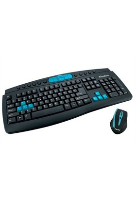 Flaxes FLX-343W Kablosuz Klavye Mouse Set