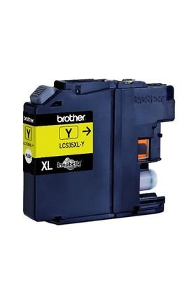 Brother LC535XLY Sarı Mürekkep Kartuşu