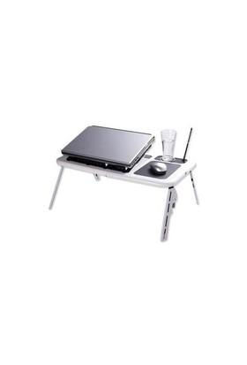 Buffer Portatif Katlanabilir Soğutuculu Laptop Sehpası
