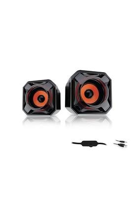 Mikado Md-177 2.0 5W * 2 Turuncu Mini Usb Speaker