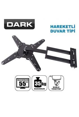 """Dark 23""""- 55"""" Hareketli ve Katlanabilir Duvar Tipi,Monitör Askı Aparatı(DK-AC-VT30PC)"""