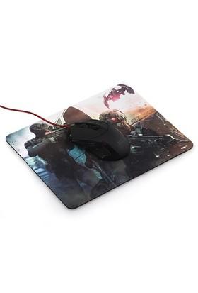 TX Assault Desenli Gamer MousePad Mousepad (280x220x3mm)(TXACMPAD041)