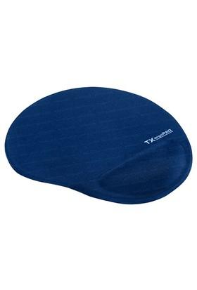 TX ErgoPad Plus Bilek Jel Destekli Lacivert Mousepad (250x220x5mm)(TXACMPAD01DB)
