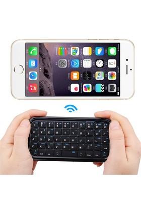 Microcase Mobil Cihaz İçin Mini Bluetooth Ergonomik Klavye