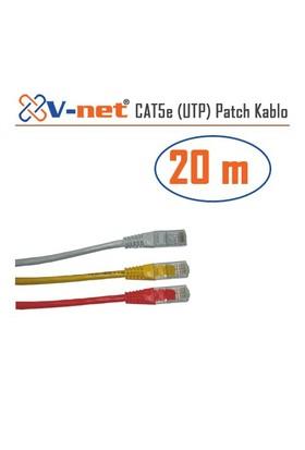 V-Net CAT5e UTP 20m Patch kablosu