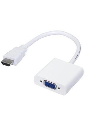 Qpars Qp288 Hdmı To Vga Kablo Çevirici Dönüştürücü Converter