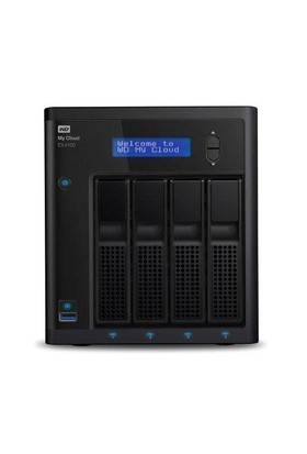Western Digital My Cloud EX4100 24TB EMEA Çoklu Depolama Ünitesi (NAS) (WDBWZE0240KBK)